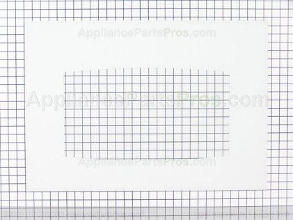 GE Glass Ovn Dr (wh) WB56T10192 from AppliancePartsPros.com