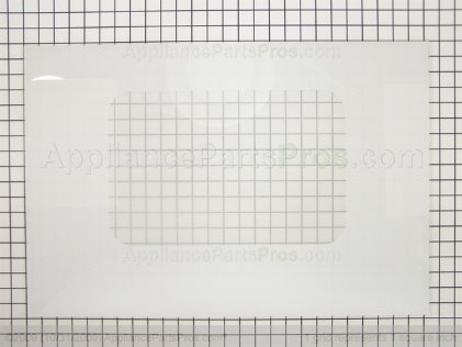 GE Glass Ovn Dr Out (wht) WB57T10089 from AppliancePartsPros.com
