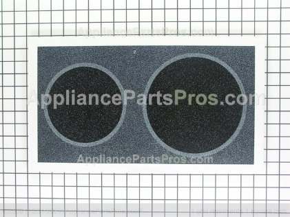 GE Glass Panel & Frame Assembly WB36X5701 from AppliancePartsPros.com