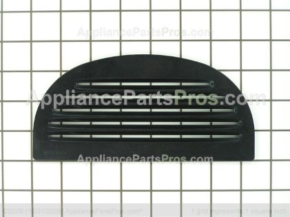 GE Grille Recess Bk WR17X11770 from AppliancePartsPros.com
