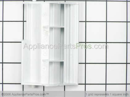 GE Handle, Door (white) WD09X10044 from AppliancePartsPros.com