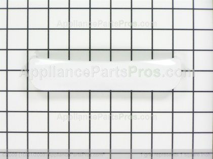 GE Handle White WE01X20419 from AppliancePartsPros.com