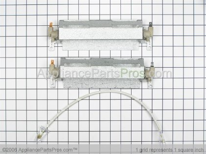 GE Heater & Brk Assembly WR49X391 from AppliancePartsPros.com