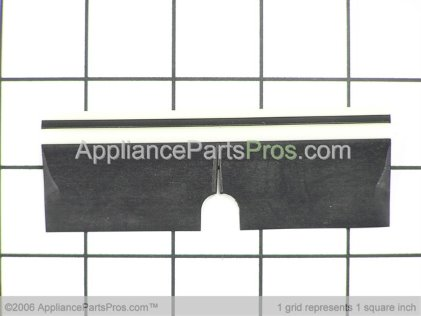 GE Ice Deflector (black) WR17X10282 from AppliancePartsPros.com