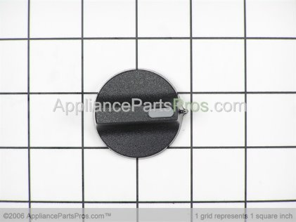 GE Infinite Knob (blk) WB03K10084 from AppliancePartsPros.com