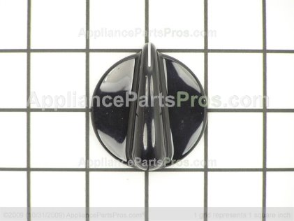 GE Infinite Knob (blk) WB03T10028 from AppliancePartsPros.com