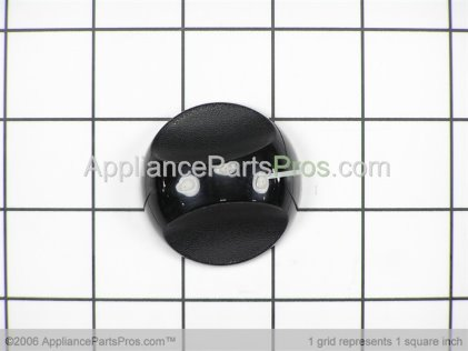 GE Infinite Knob Blk WB3K5096 from AppliancePartsPros.com