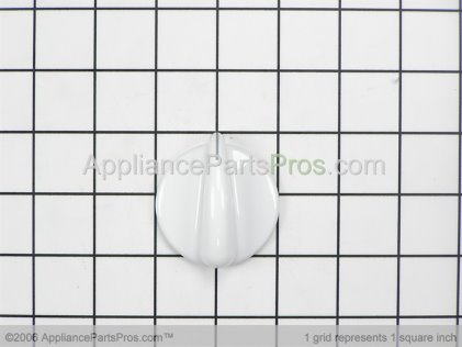 GE Infinite Knob (wht) WB03T10030 from AppliancePartsPros.com