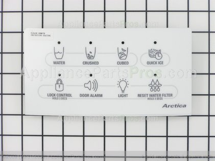 GE Interface Disp Asm Wh WR55X10305 from AppliancePartsPros.com