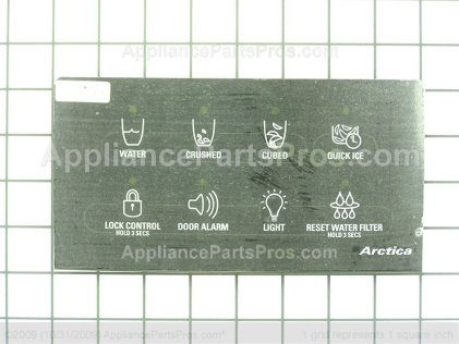 GE Interface Disp Asm Bk WR55X10415 from AppliancePartsPros.com