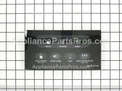 GE Interface Disp Asm Bk WR55X10423 from AppliancePartsPros.com