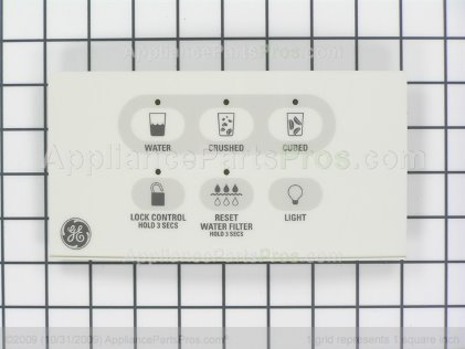 GE Interface Disp Asm Bq WR55X10516 from AppliancePartsPros.com