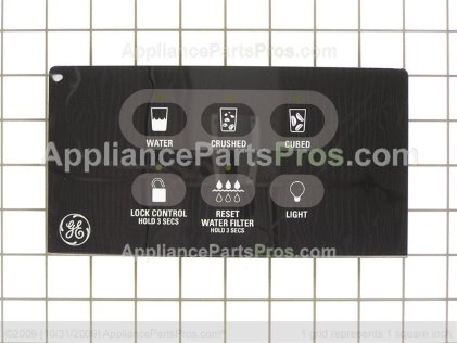 GE Interface Disp Asm Bk WR55X10517 from AppliancePartsPros.com