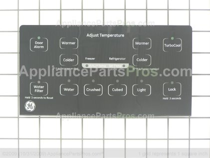 GE Interface Dispenser A WR55X10869 from AppliancePartsPros.com