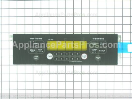 GE Keypanel Supt Asm (bk WB27T10755 from AppliancePartsPros.com
