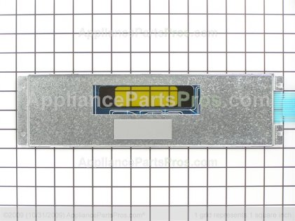 GE Keypanel Supt Asm (bk WB27T10760 from AppliancePartsPros.com
