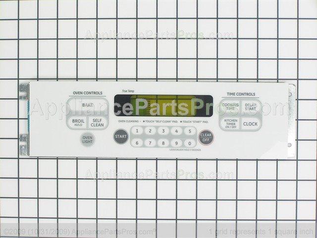 Ge Wb27t10764 Keypanel Supt Asm Wh Appliancepartspros Com