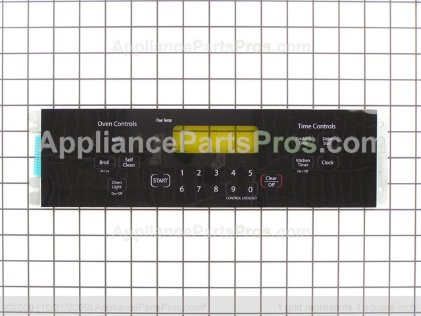 GE Keypanel Supt Asm (bk) WB27T11076 from AppliancePartsPros.com