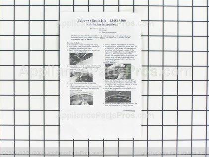 GE Kit-Bellows & Mtg Spr WH45X10075 from AppliancePartsPros.com