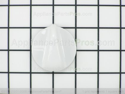 GE Knob Control (white) WB03K10116 from AppliancePartsPros.com