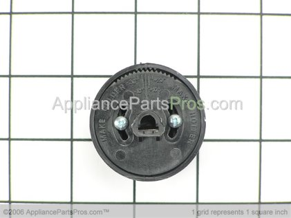 GE Knob Large Bk WB03X10035 from AppliancePartsPros.com