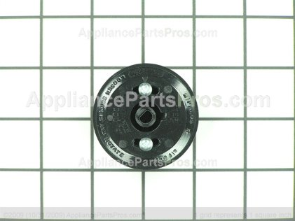 GE Knob Thmst (blk) WB03T10177 from AppliancePartsPros.com
