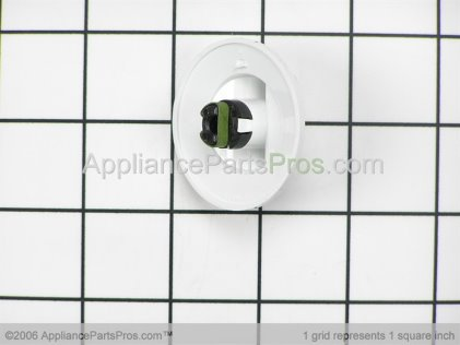 GE Knob, White WB3X5734 from AppliancePartsPros.com