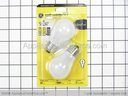 GE Appliance Light Bulb 60A from AppliancePartsPros.com