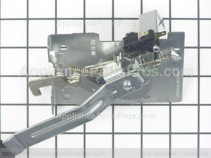GE Latch & Handle Asm WB14T10053 from AppliancePartsPros.com