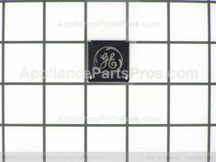 GE Lens Nameplate Bk WR04X10030 from AppliancePartsPros.com