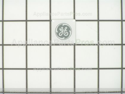 GE Lens Nameplate WR04X10028 from AppliancePartsPros.com
