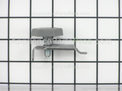 GE Leveling Leg and Bracket WE1M468 from AppliancePartsPros.com