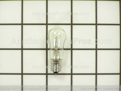 GE Light Bulb WR02X12208 from AppliancePartsPros.com