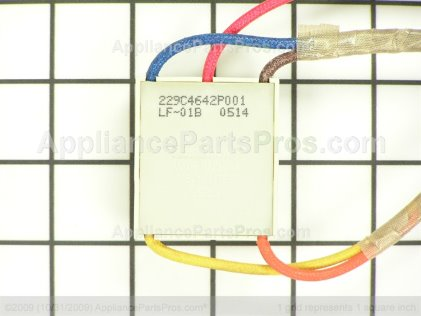 GE Light Indicator Assembly WB25T10009 from AppliancePartsPros.com