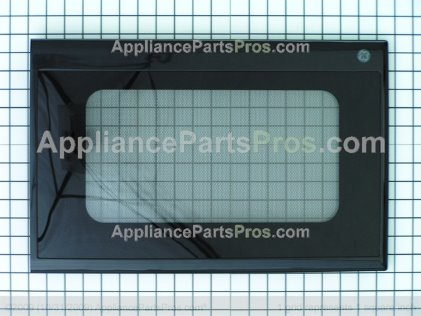 GE M/w Dr Assembly Complete GE Blk WB55T10034 from AppliancePartsPros.com