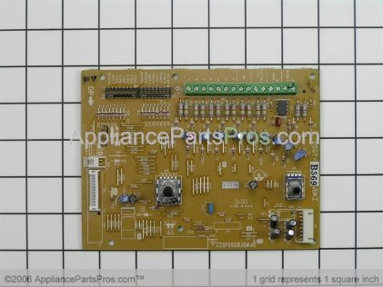 GE Main Control Board WP26X10026 from AppliancePartsPros.com