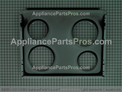 GE Main Top WB62K10080 from AppliancePartsPros.com