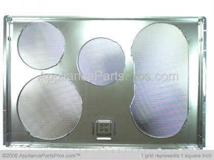 GE Maintop Glass Asm WB61T10086 from AppliancePartsPros.com
