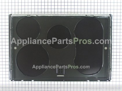 GE Maintop Glass Asm WB62T10533 from AppliancePartsPros.com