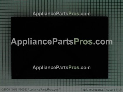 GE Maintop Glass Asm (bk WB62T10542 from AppliancePartsPros.com
