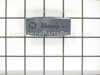 GE Mg Logo Small Pinned WB02X10832 from AppliancePartsPros.com