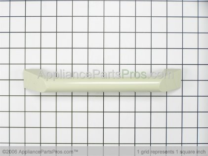 GE Microwave Door Handle WB15X326 from AppliancePartsPros.com
