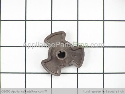GE Microwave Turntable Coupler WB06X10144 from AppliancePartsPros.com