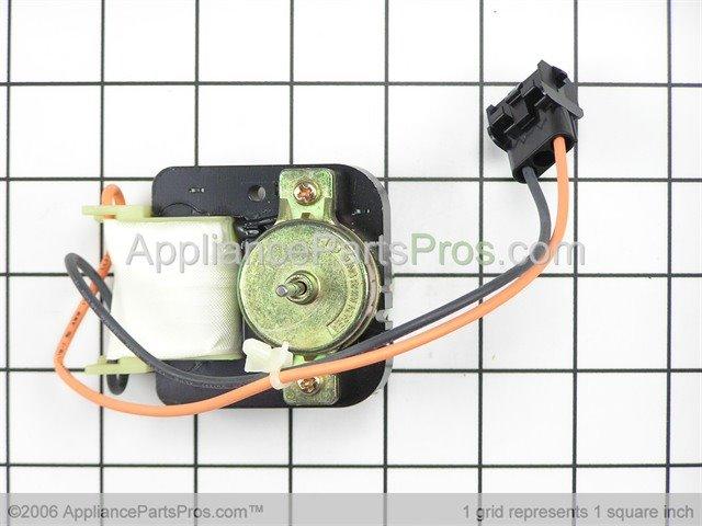 Ge wr60x10024 motor condenser fan for Hotpoint refrigerator condenser fan motor