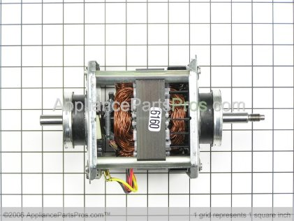 GE Motor & Pulley WE17X10002 from AppliancePartsPros.com
