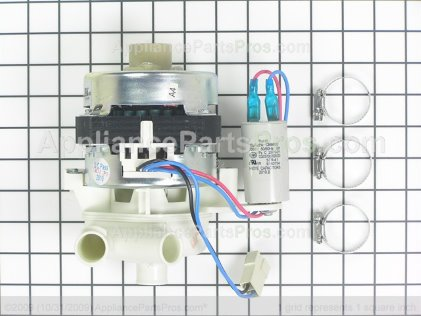 GE Motor Pump Asm &amp; Clam WD26X10031 from AppliancePartsPros.com