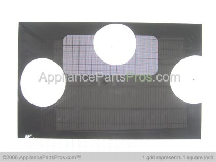 GE Outer Door Glass WB57K2 from AppliancePartsPros.com