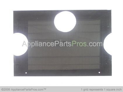 GE Outer Door Glass, Black WB57K5213 from AppliancePartsPros.com