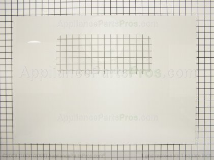 GE Outer Dr Glass White WB56T10149 from AppliancePartsPros.com