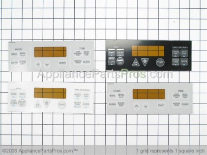GE Ov Control E WB27T10324 from AppliancePartsPros.com